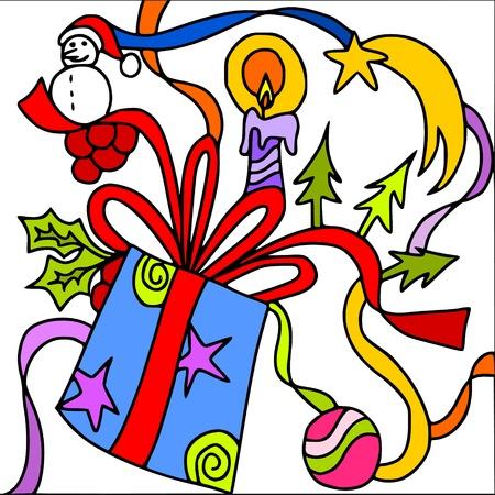 happy christmas Stock Vector - 9717859
