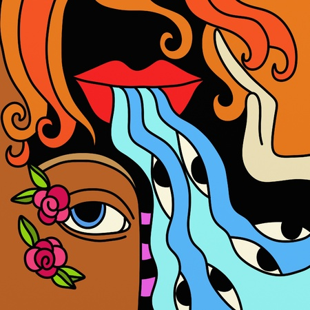 adn: labios y ojos