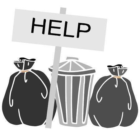 emergency waste Stock Vector - 9919899