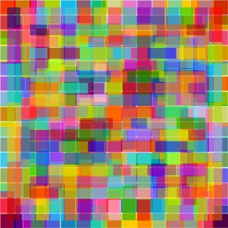 intense: colore astratto