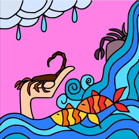 escorpio: signos de agua
