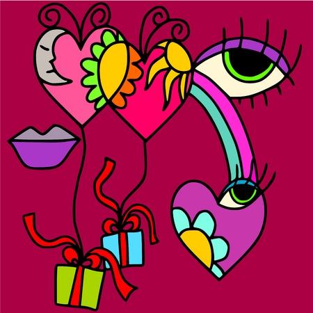 the season of romance: heart