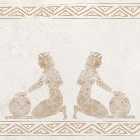 Egyptian decoration photo