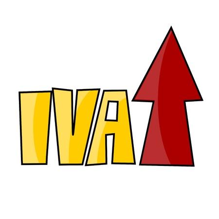 vat: VAT on the rise Illustration