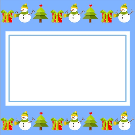 Christmas decoration paper Vector