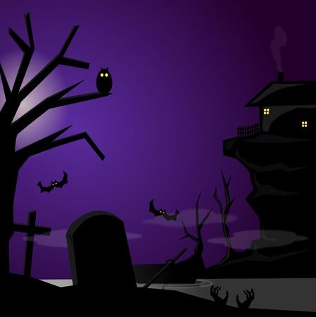 night dress: night from fear