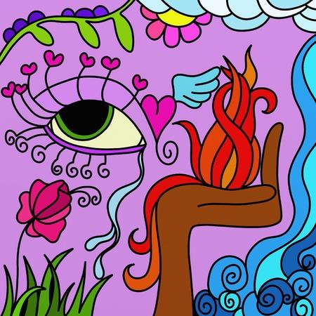 abstract eye photo