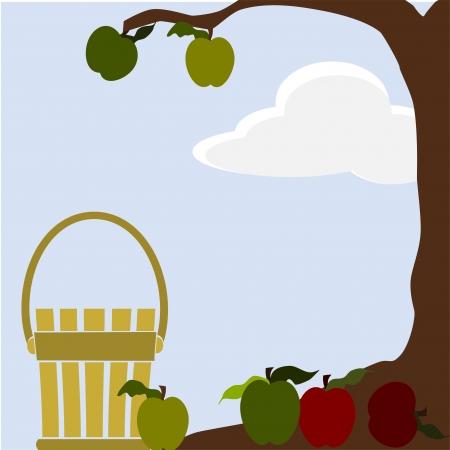apple tree Stock Vector - 11032045