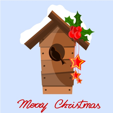 Christmas nest Stock Vector - 11499519