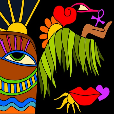 kingdom of god: egypt Illustration