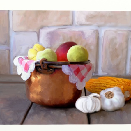 still life painting photo