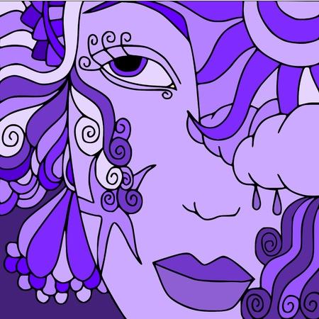 fantasy woman:  woman