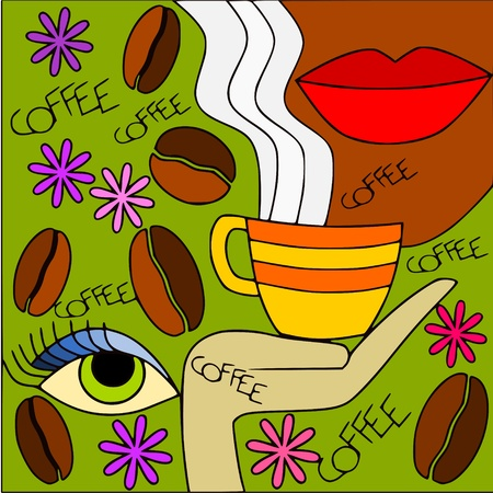 coffee Stock Vector - 12386527