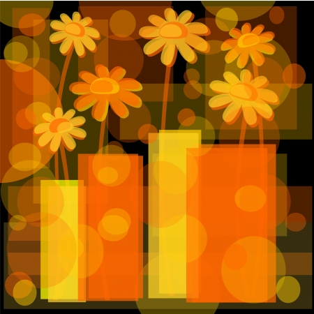 abstract background with flower fantasy Stock Photo - 15195158