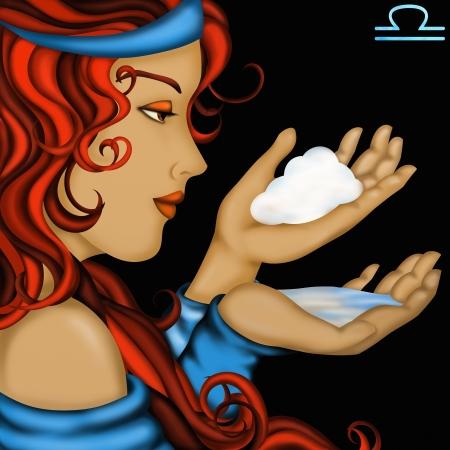 venus: Zodiac signs with womens faces- Libra