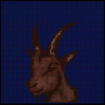 capricornio: la fantasía del diseño con los signos del zodiaco - Capricornio -