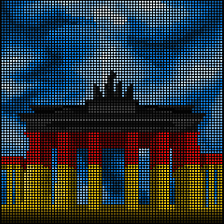 brandenburg gate: Capital of Germany - Berlin - Brandenburg Gate -
