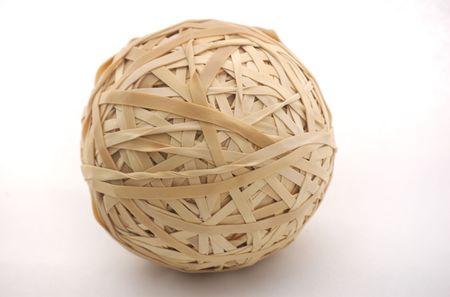 Rubber Band Ball 版權商用圖片