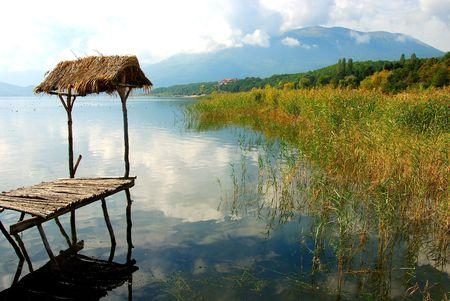 The lake of Prespa. photo