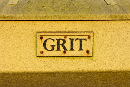 Grit Bin closeup