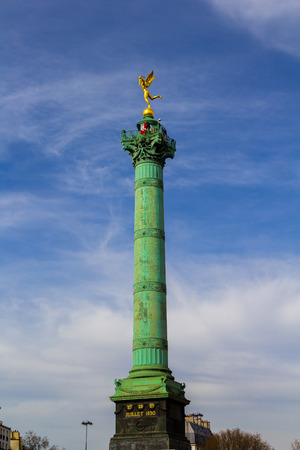 The July Column in Place de la Bastille Paris photo