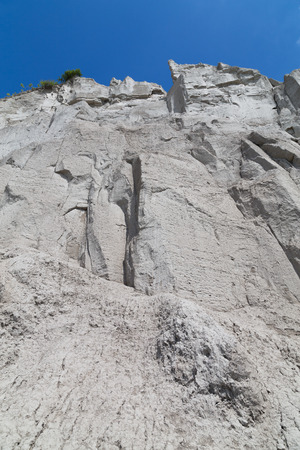 cliff face: Low angle view of a cliff face during the day