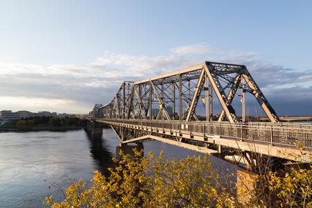 alexandra: Alexandra Bridge in Ottawa during the day
