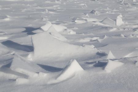 bumpy: Full frame bumpy snow background