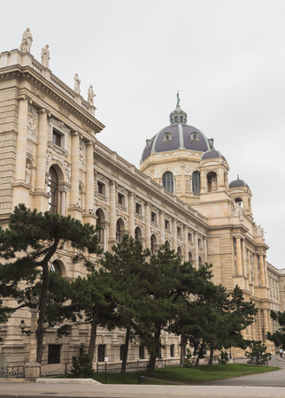 innere: VIENNA, AUSTRIA - 4TH OCTOBER 2015: Part of the Naturhistorisches Museum in Vienna during the day. Editorial