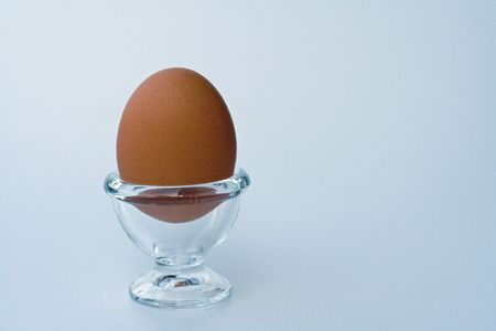 egg in eggcup photo
