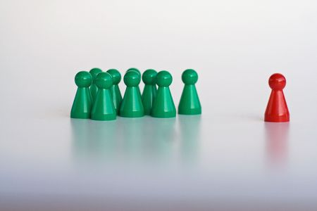 group acceptance Stock Photo