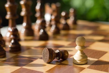 chess game Stock Photo - 5613829