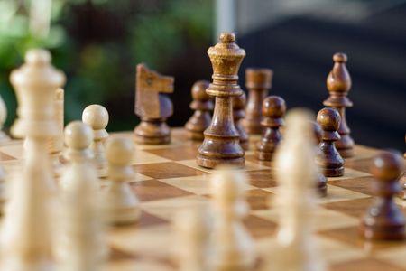 chess game Stock Photo - 5613828