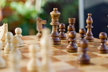 chess game Stock Photo - 5613830