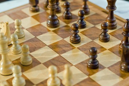 chess game Stock Photo - 5613833