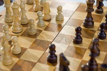 chess game Stock Photo - 5613834