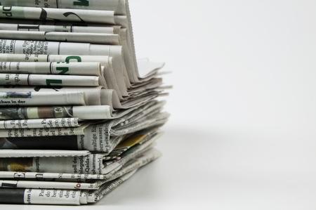 pile of newspaper Stok Fotoğraf - 10054121