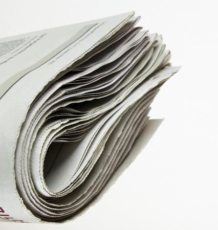 あなたのマッサージのためのコピー スペースを持つ新聞の山 写真素材