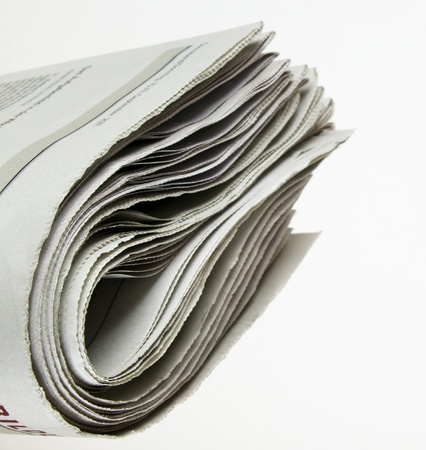 pile of newspaper with copy space for your massage Stock Photo - 11087157