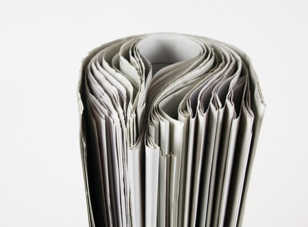pile of newspaper with copy space for your massage Stock Photo - 11087160