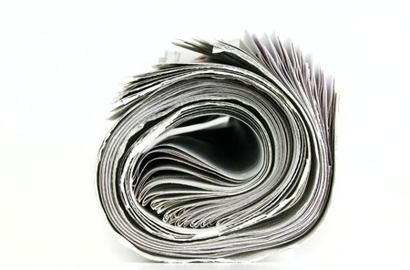 pile of newspaper with copy space for your massage