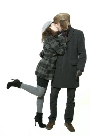 populate: winter love couple
