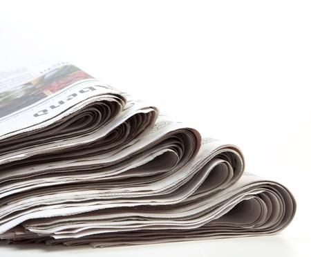 newspaper stack: stack of newspaper Editorial