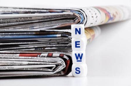 newspaper news Stock Photo - 12616588