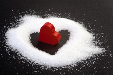 decode: read heart from sugar grains