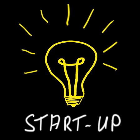 Start-up-Konzept Standard-Bild - 14791068