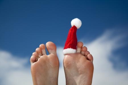x-mas の休暇 写真素材