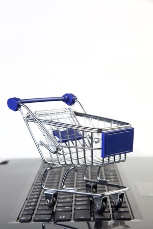 Online-Shopping - Warenkorb Standard-Bild - 15433051