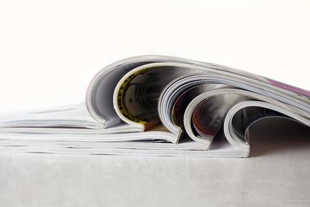 Tijdschrift Stockfoto