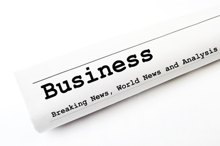 Business newspaper Stock Photo - 16829589